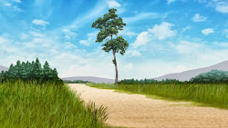anime scenery landscape background outdoor forest